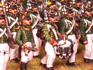 15mm, Napoleonic French Guard Flanker Chasseurs AB 24 Figures